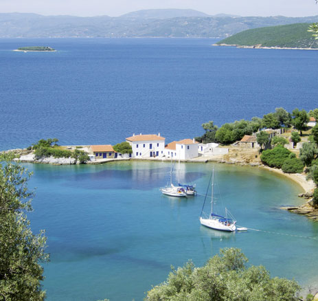 Charterführer Nördliche Sporaden Golf von Volos • Skiathos bis Skyros